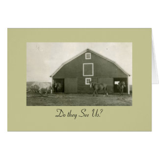 Do They See Us? Stationery Note Card