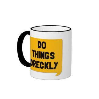 Do Things Dreckly! A Cornish Soundboard Mug