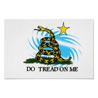 Do Tread On Me poster