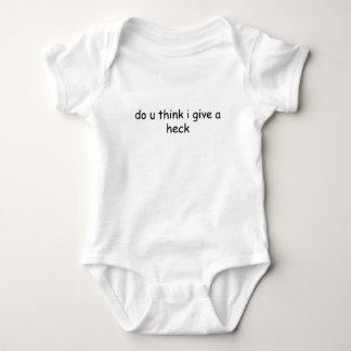 do u think i give a heck t shirt.png t-shirt