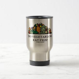 Do Vegetarians Eat Figs? (Pile Of Vegetables) Travel Mug