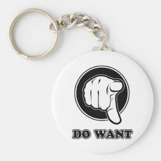 Do Want Keychain