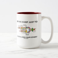 Do We Exist Just To Pass Along Our Genes? Two-Tone Coffee Mug