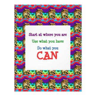 Do what you can wisdom quote text words saying letterhead