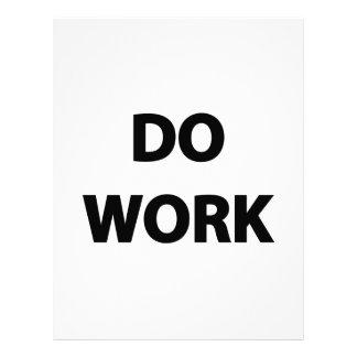 Do Work Letterhead