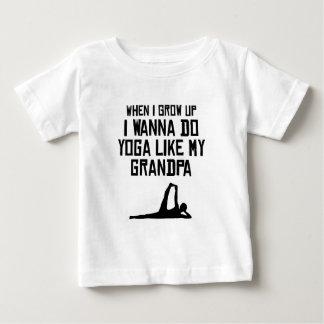 Do Yoga Like My Grandpa Infant T-shirt