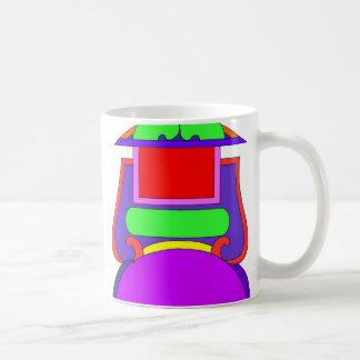 do yor own captions label coffee mug