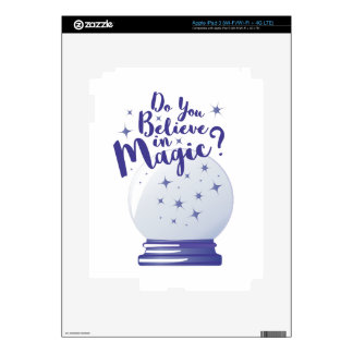 Do You Believe Decals For iPad 3