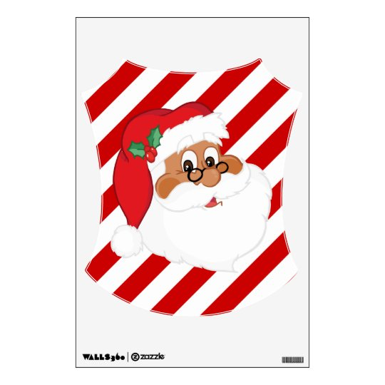Do You Believe in Black Santa Claus? Wall Sticker