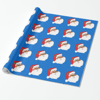 Do You Believe in Black Santa Claus? Wrapping Paper
