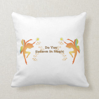 Do You Believe In Magic Fairy Pillow
