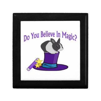 Do You Believe in Magic Keepsake Boxes