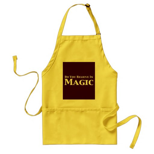 Do You Believe In Magic Gifts Adult Apron