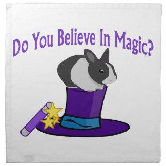Do You Believe in Magic Napkin