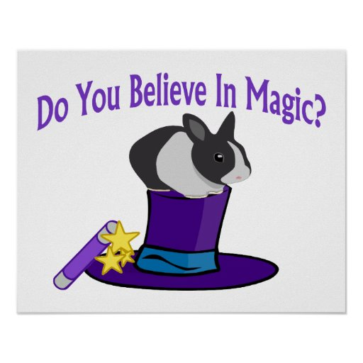 Do You Believe in Magic Poster