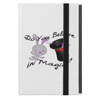 Do You Believe In Magic Top Hat & Rabbit Cover For iPad Mini