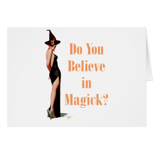 Do You Believe in Magick? Card