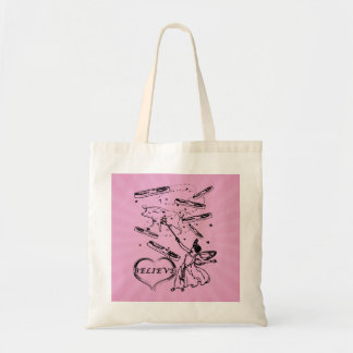 Do You Believe in the Bacon Fairy? Budget Tote Bag