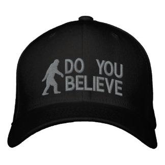 "Do you believe *large bigfoot logo"" baseball cap"
