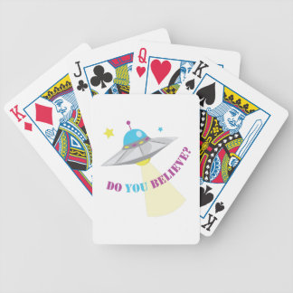 Do You Believe? Bicycle Playing Cards