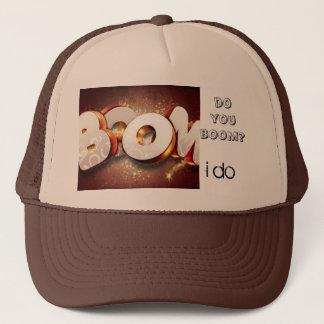 do you boom? trucker hat