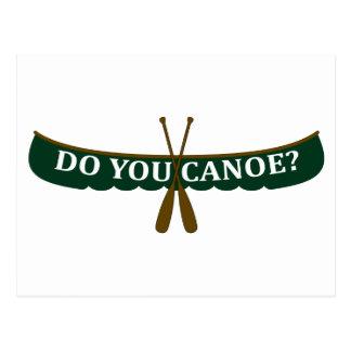 Do You Canoe? Postcard