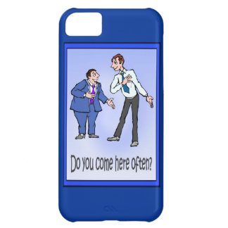 Do you come here often? iPhone 5C cases