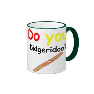 Do you didgeridoo Cup Mug