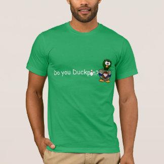 DO YOU DUCKPIN? Bowling Tee