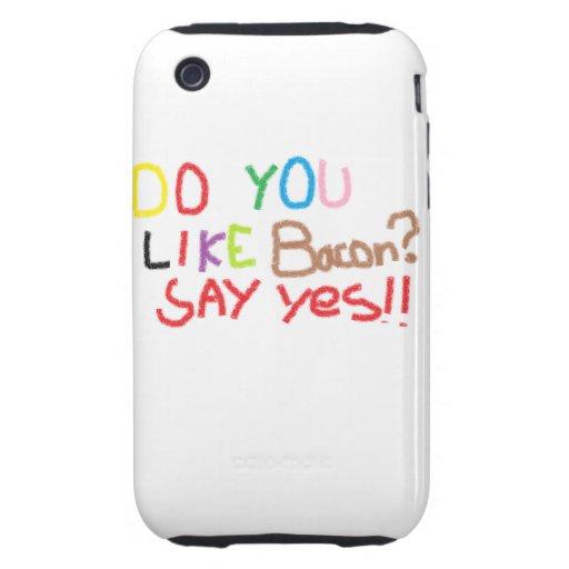 Do you equal bacon iPhone 3 tough case