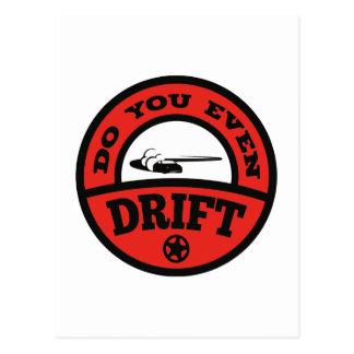 Do You Even Drift? Postcard