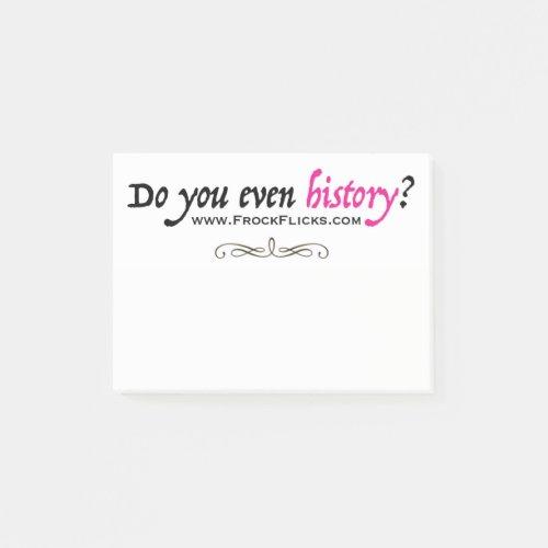 Do you even history _ Sticky Notes