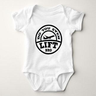Do You Even Lift Bro? Baby Bodysuit