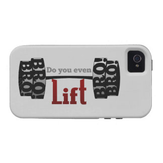 Do you even lift bro barbells iPhone 4/4S cover