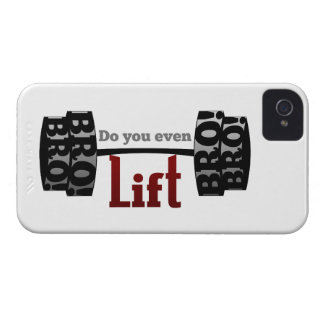 Do you even lift bro barbells iPhone 4 Case-Mate cases