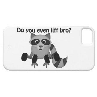Do You Even Lift Bro Raccoon iPhone SE/5/5s Case