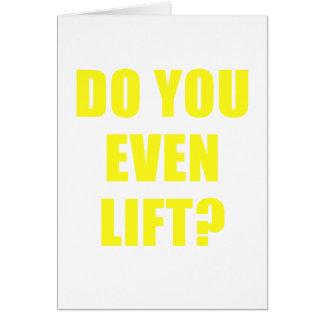 Do You Even Lift Card