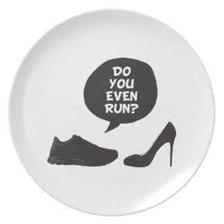 Do You Even Run? Party Plate