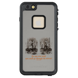 Do You Ever Wish Go Through Mirror? Wonderland LifeProof FRĒ iPhone 6/6s Plus Case
