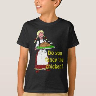 Do you fancy the chicken? T-Shirt