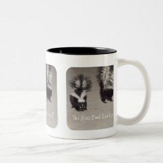 Do you Feel Lucky? Two-Tone Coffee Mug