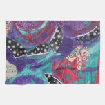 Do You Feel The Music? A Mixed Media Art Paint Towels