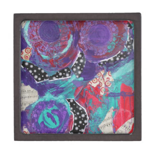 Do You Feel The Music? A Mixed Media Art Paint Premium Gift Boxes
