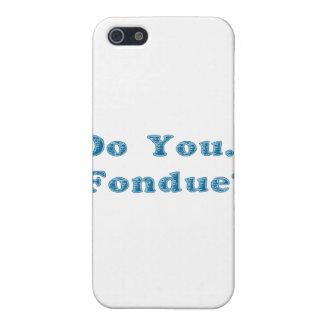 Do You Fondue Blue iPhone SE/5/5s Cover