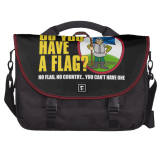Do You Have A Flag? Bag For Laptop