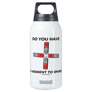 Do You Have A Moment To Spare? (Quadrupole Moment) Insulated Water Bottle