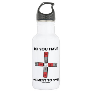 Do You Have A Moment To Spare? (Quadrupole Moment) Water Bottle