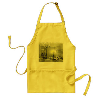 Do You Have a Reservation? Adult Apron