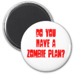 Do YOU have a zombie Plan? Magnets
