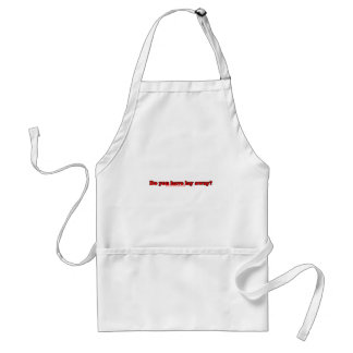 Do You Have Lay Away Adult Apron